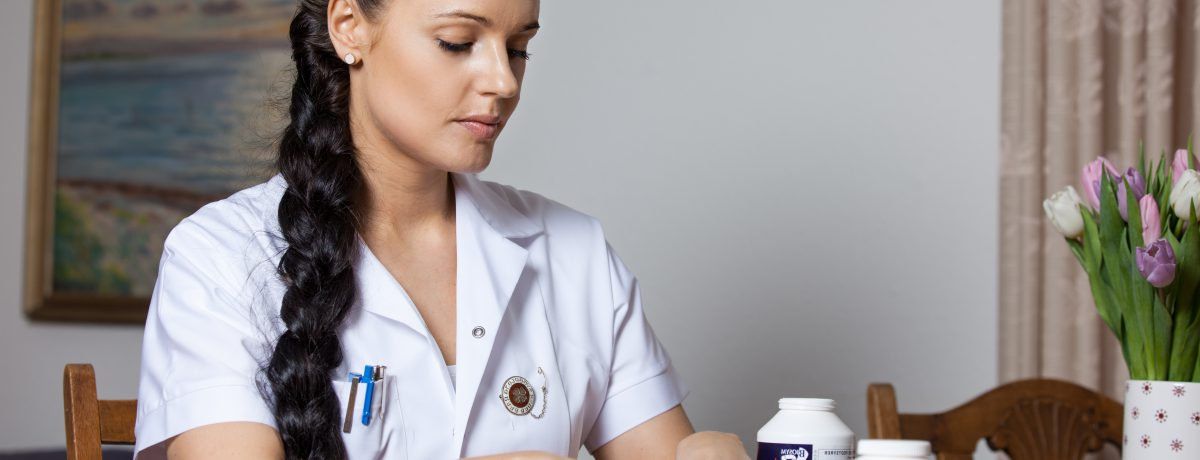 medicindosering i eget hjem sygeplejerske line borup