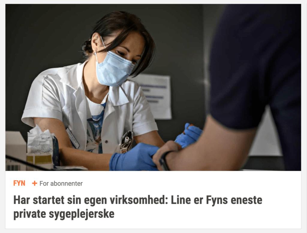 Din fynske sygeplejerske i fyens stiftstidende